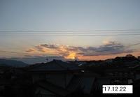'17.12.22夕日と雲�@.JPG