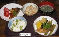'17.4.29豆ごはんの夕食.JPG