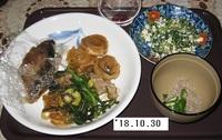 '18.10.30豚肉すき焼き風他.JPG