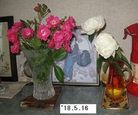 '18.5.16ミニバラを花瓶に.JPG
