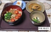 '19.10.27ひき肉丼.JPG