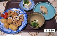 '19.10.29サトイモとイカの煮物他.JPG