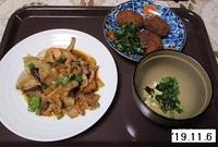 '19.11.6鮭の野菜ソースかけ他.JPG