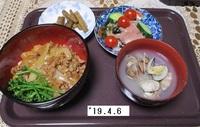 '19.4.6ひき肉丼他.JPG