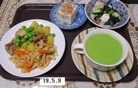 '19.5.9鶏肉ジャガ・干し大根煮物他.JPG