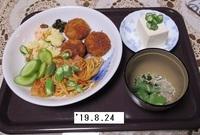 '19.8.24トマトスパ・ヒレカツ他.JPG