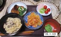 '20.1.3夕食牡蠣飯他.JPG