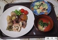 '20.11.15ブリブリの照り焼き・ポテサ他.JPG