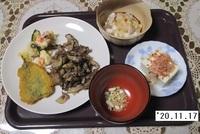 '20.11.17マイタケと豚肉の炒め物他.JPG