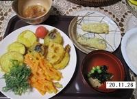 '20.11.26野菜とイワシの天ぷら他.JPG