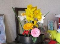 '20.3.22畑花と椿.JPG