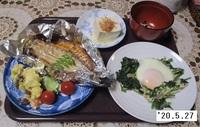 '20.5.27ホウレンソウの卵とじ.JPG