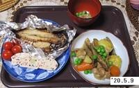 '20.5.9根菜炒め煮他.JPG
