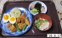 '20.9.17鶏肉とタケノコのさっぱり煮他.JPG