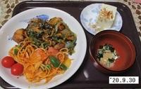 '20.9.30フグの野菜あんかけ他.JPG