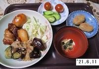 '21.6.11ナスと豚肉のみそ炒め他.JPG