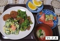 '21.7.6ピーマンとひき肉の炒め煮他.JPG