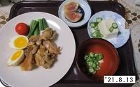 '21.8.13鶏肉のさっぱり煮他.JPG