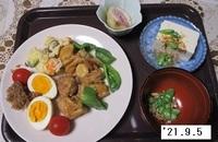 '21.9.5鶏肉のさっぱり煮他.JPG