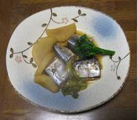 ダイコンとサンマの黒酢煮'13.12.13.jpg